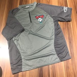 Other - Arizona Diamondbacks half-zip Pullover